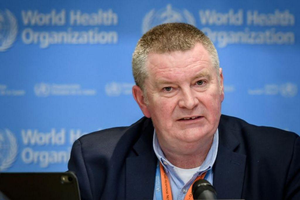 ATASI DENGAN TEGAS: Pengarah eksekutif Program Kecemasan Kesihatan WHO, Dr Michael Ryan, menggesa negara-negara untuk memerangi Covid-19 secara tegas sekarang.
