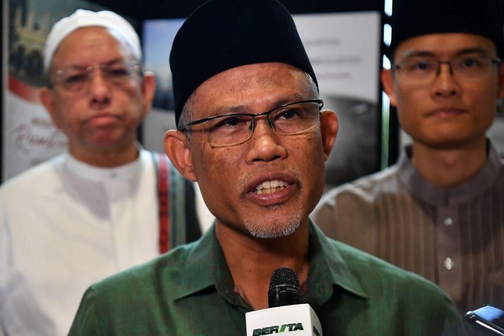 Menteri Bertanggungjawab bagi Ehwal Masyarakat Islam Masagos Zulkifli Masagos Mohamad.