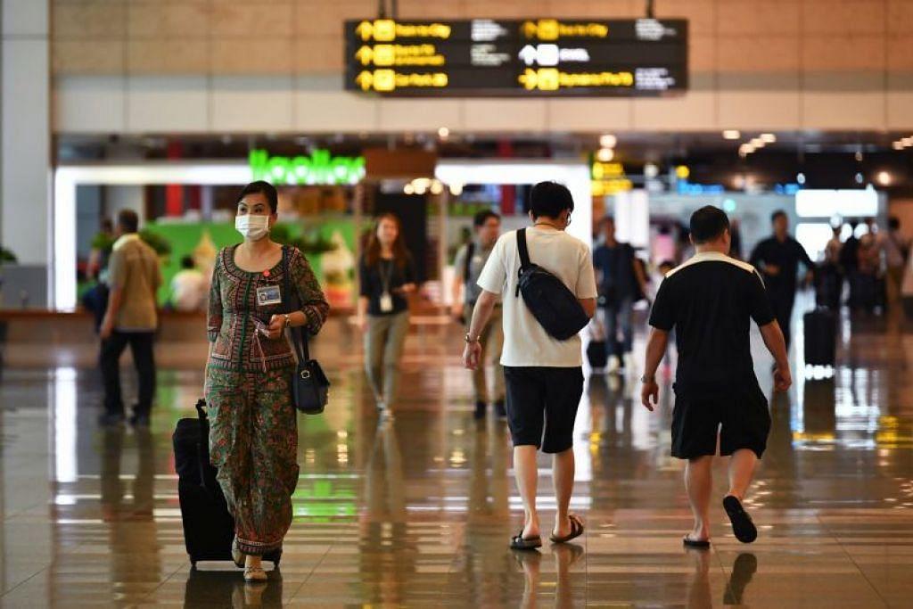 Jurucakap kementerian kesihatan Thailand menasihatkan penduduknya agar tidak ke negara seperti Singapura.