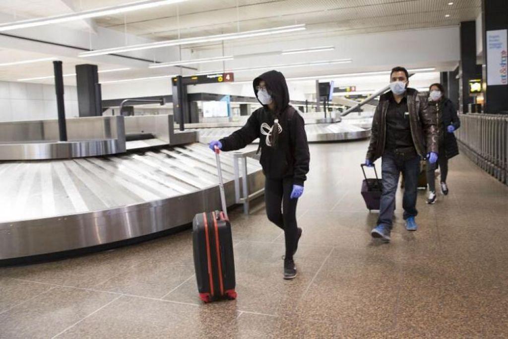 Penguasa Lapangan Terbang India (AAI) berkata pengasingan akan dikuatkuasakan di semua lapangan terbangnya. - Foto AFP