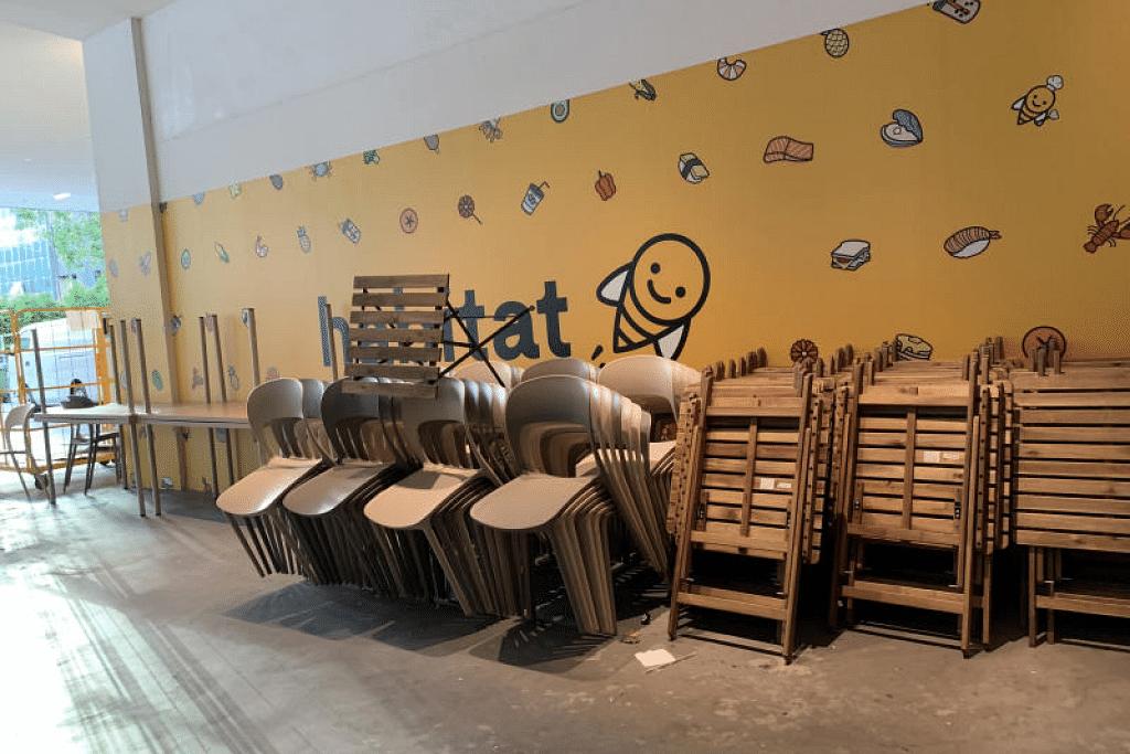Honestbee telah menutup Habitat buat sementara sejak 10 Februari apabila bilangan pelanggannya merosot, terutama selepas penularan Covid-19. - Foto CLAUDIA CHONG