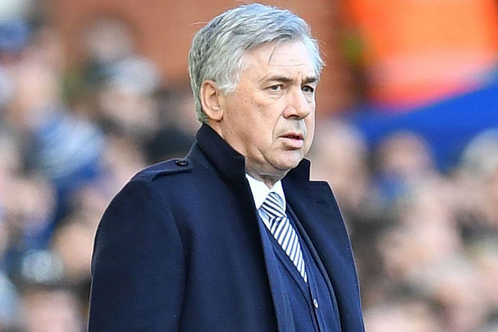 CARLO ANCELOTTI: Pengurus Everton. – Foto AFP