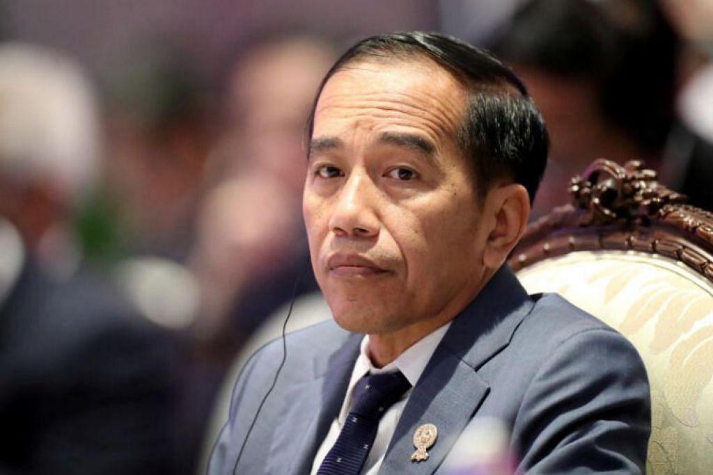 SUDI TERIMA BANTUAN SINGAPURA: Encik Joko tidak menjelaskan apa jenis bantuan dan jumlah yang akan diberikan.