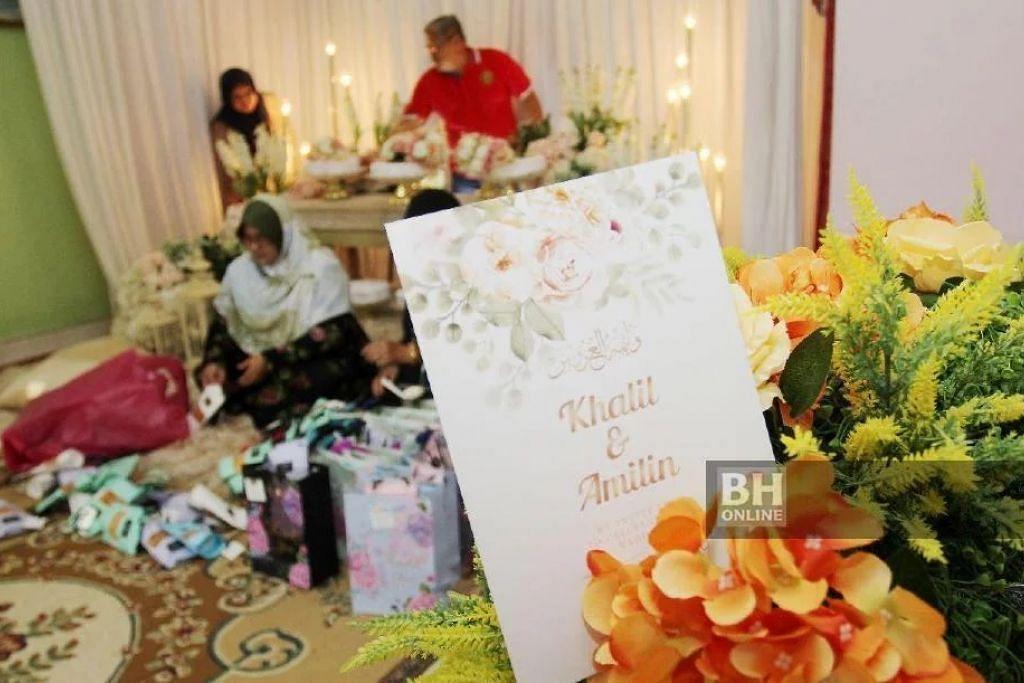 DIBATALKAN: Berikutan penularan Covid-19, sebuah keluarga di Kelantan membatalkan majlis perkahwinan yang sepatutnya berlangsung esok (19 Mac).