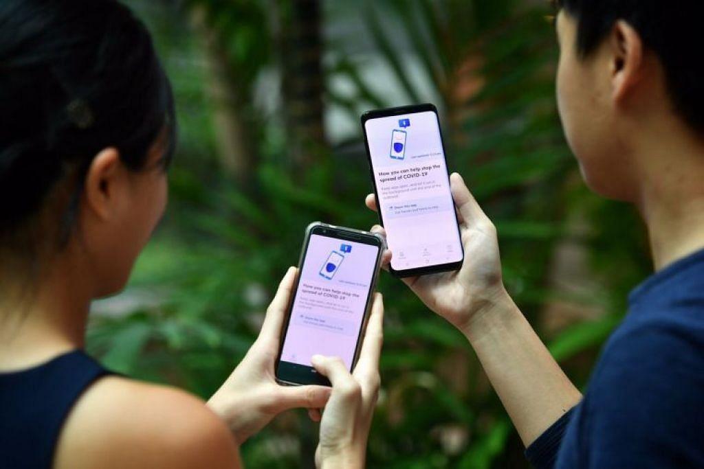 Menggunakan teknologi bluetooth, aplikasi TraceTogether dapat mengenal pasti pengguna yang telah berhubung rapat – jarak sekitar dua meter dan selama hampir 30 minit – dengan pesakit.