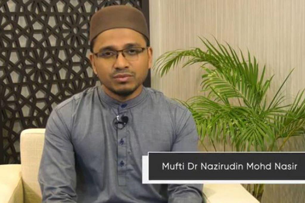 PESANAN MUFTI DR NAZIRUDIN MOHD NASIR @ FACEBOOK