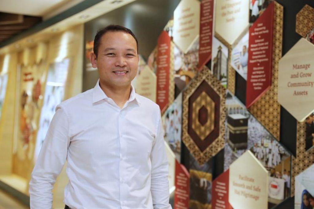 UNDUR DIRI: Encik Mohd Fahmi Aliman menyertai Muis awal tahun lepas, dan akan mengundur diri sebagai Timbalan Ketua Eksekutif Muis bermula 24 Mac.