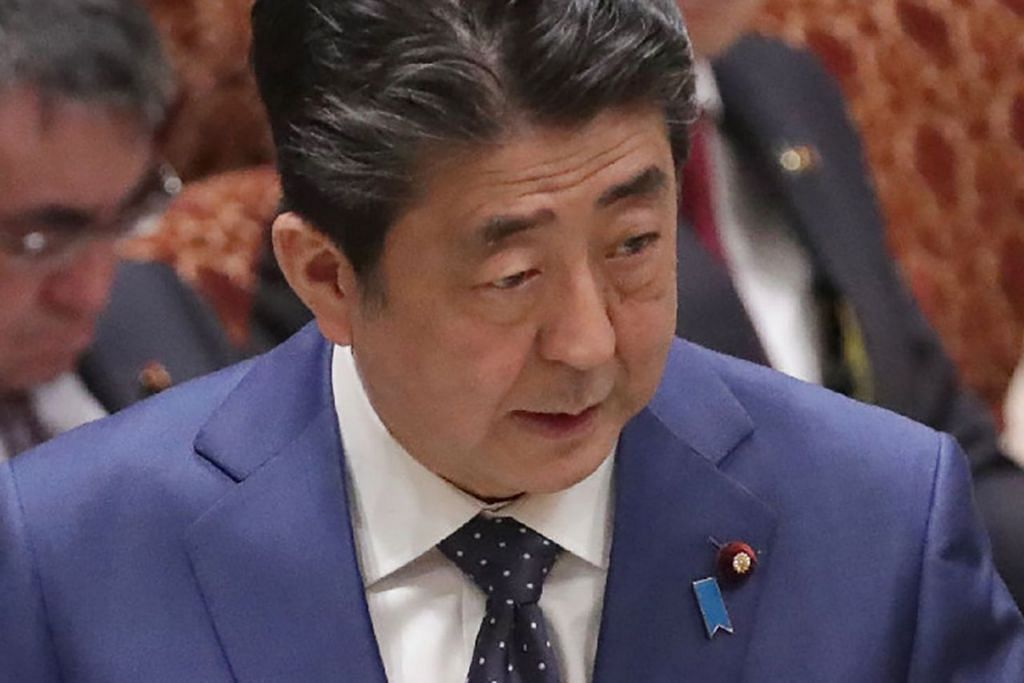 Perdana Menteri Jepun, Encik Shinzo Abe, memberitahu Parlimen negara itu.