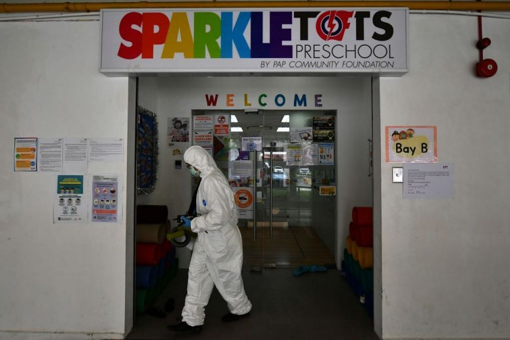 Pusat PCF Sparkletots Fengshan dinyahjangkit setelah 14 kakitangannya dijangkiti virus itu, termasuk pengetuanya.