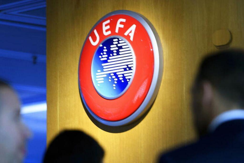 DEMI KESELAMATAN AWAM: Perlawanan akhir Liga Juara-Juara, Liga Eropah dan Liga Juara Juara Wanita, kesemua yang dijadualkan berlangsung Mei ini, kini ditangguhkan.