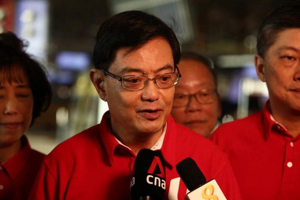 USAHA SEPADU ATASI COVID-19: Timbalan Perdana Menteri, Encik Heng Swee Keat, dalam catatan di Facebook yang dimuatnaik pada 3.45 petang tadi, menyatakan sebahagian besar masanya beliau telah bekerja dari rumah sejak 'pemutus litar' dilaksanakan.