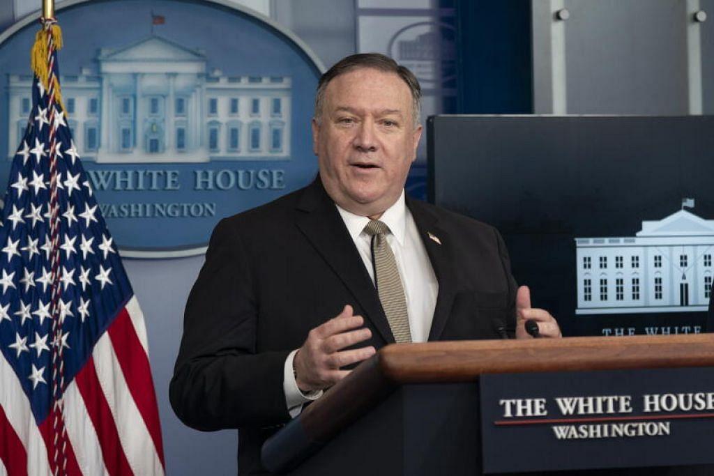 MEMBANTU NEGARA SEDUNIA: Setiausaha Negara Amerika, Encik Michael R. Pompeo, mengumumkan peruntukan AS$225 juta bagi membantu negara sedunia memerangi Covid-19.