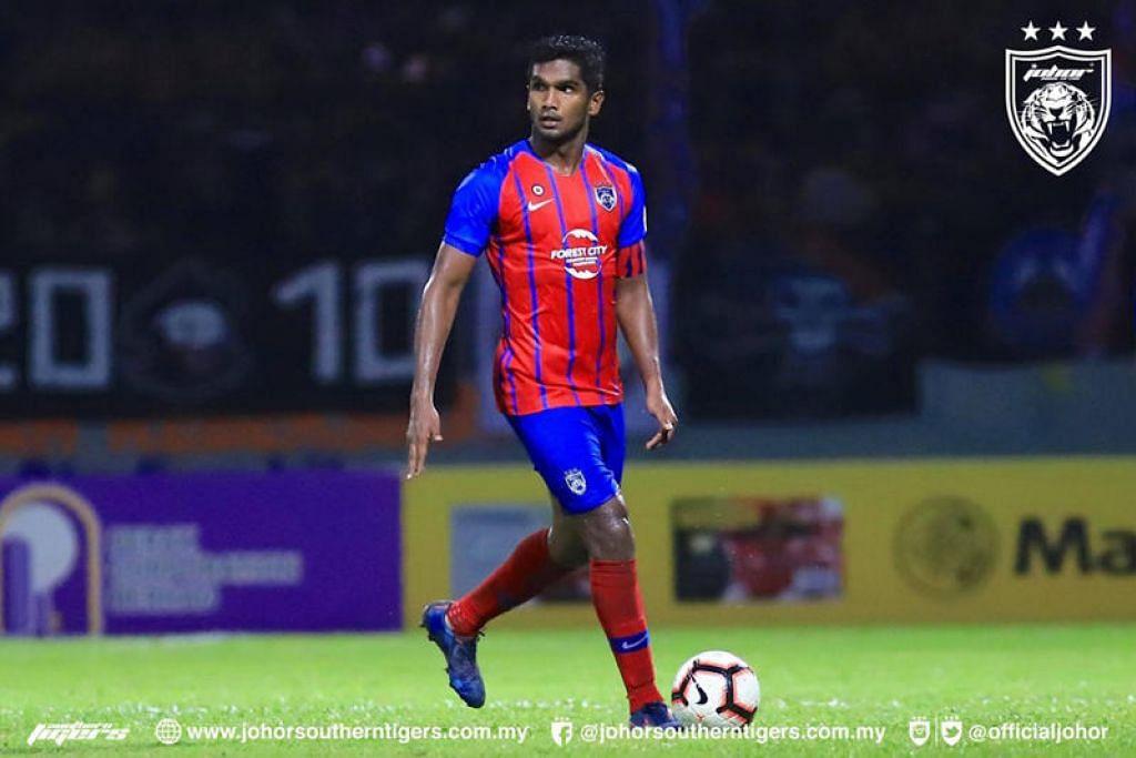 PILIHAN JOHOR: Negeri Johor mendapatkan khidmat pemain utama Singapura, Hariss Harun, bagi memantapkan kesebelasannya.