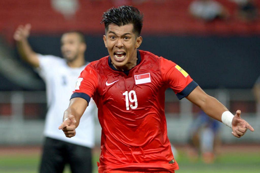 PILIHAN UTAMA: Bekas penyerang kebangsaan Singapura, Mohammad Khairul Amri Mohammad Kamal, kini bersama Felda United FC, Khairul Amri,
