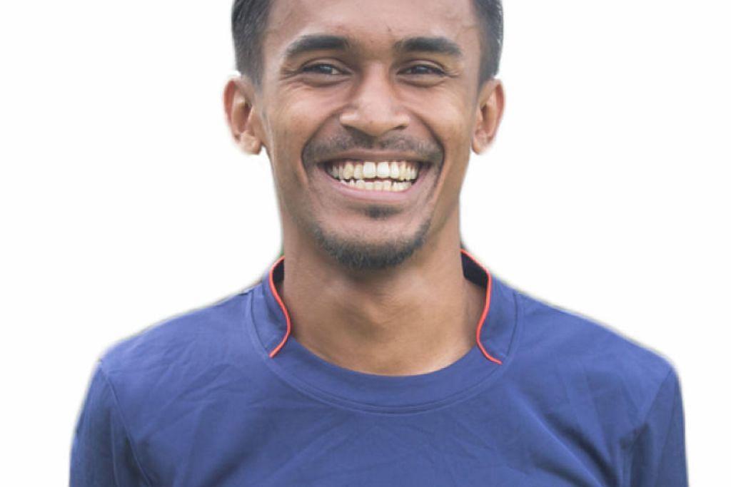 PILIHAN KEDAH: Bekas pemain kebangsaan Singapura, Shakir Hamzah, kini beraksi untuk pasukan Jelapang Padi