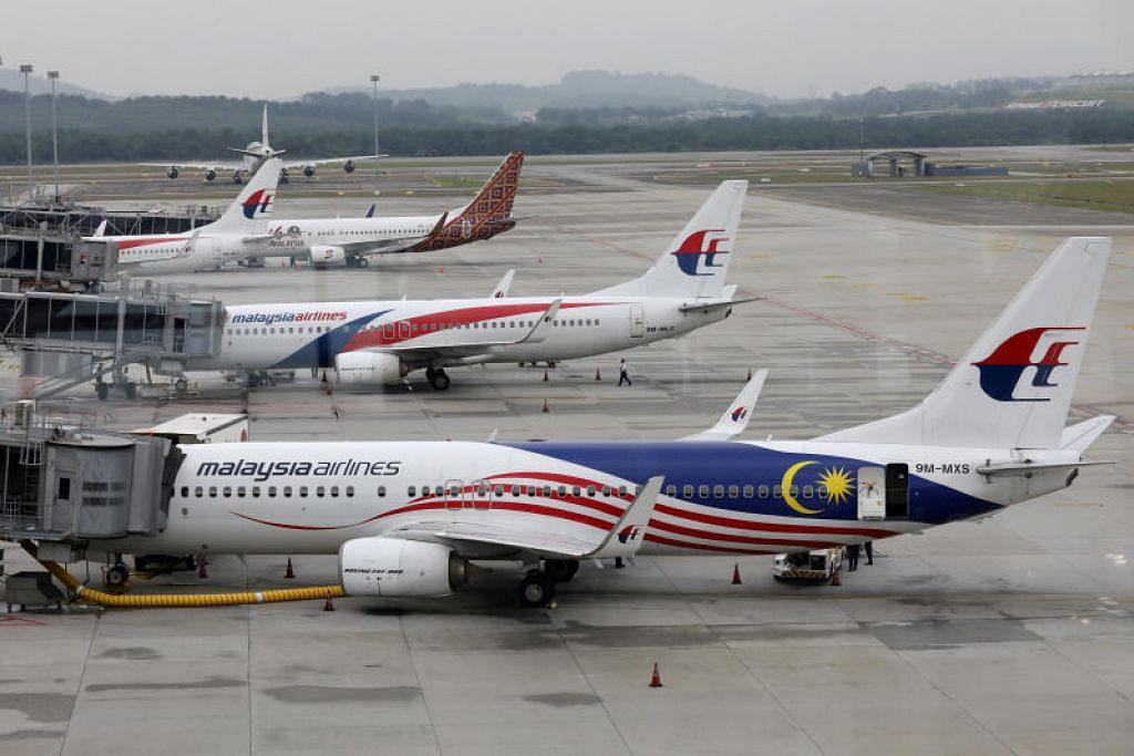 KESELAMATAN PENUMPANG DAN KAKITANGAN: Syarikat penerbangan Malaysia Airlines hari ini mewajibkan semua penumpang - kecuali bayi - memakai pelitup, tanpa mengira sama ada mereka melakukan penerbangan domestik, antarabangsa atau menaiki pesawat sewa khas Malaysia Airlines.