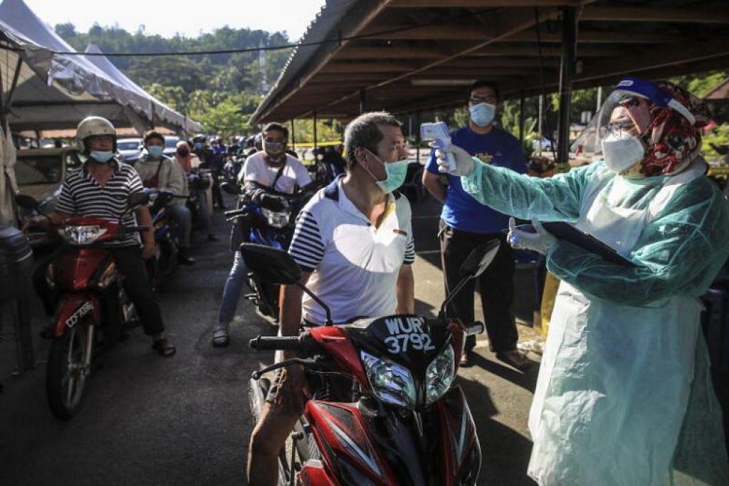 KORONAVIRUS DI MALAYSIA: Malaysia mempunyai 5,780 jangkitan dengan 98 kematian sejauh ini.