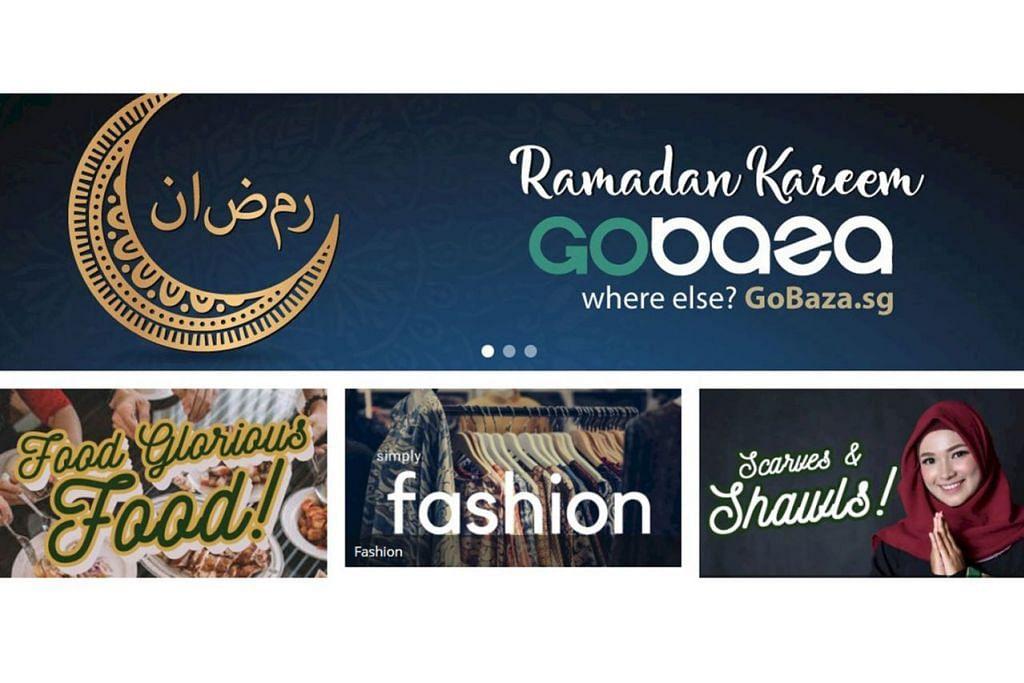 Gobaza.sg : Dilancarkan pada 13 April lalu dan kini mempunyai sekitar 50 peniaga menjual lebh 100 barang dalam kategori seperti makanan, fesyen tradisional, kosmetik dan perhiasan rumah. – Foto GOBAZA.SG
