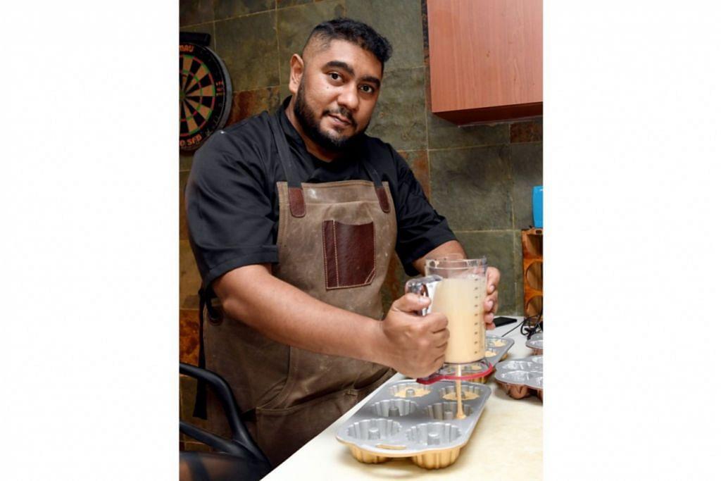 MASA FIKIR STRATEGI: Encik Abdul Bari Mohamed Abu Bakar, pemilik jenama Beardy Bakes by BeardyHulk, berkata tempoh pemutus litar memberi beliau masa merancang strategi masa depannya. Gambar ini diambil sebelum pemutus litar bermula. - Foto BH oleh KHALID BABA