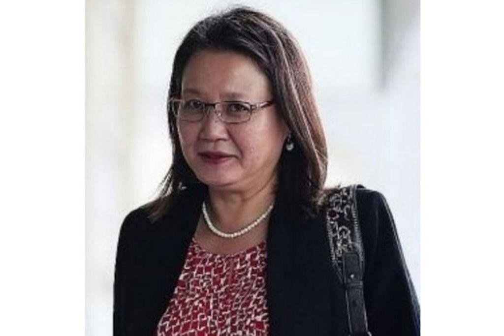 AP GRC Aljunied, Cik Sylvia Lim.