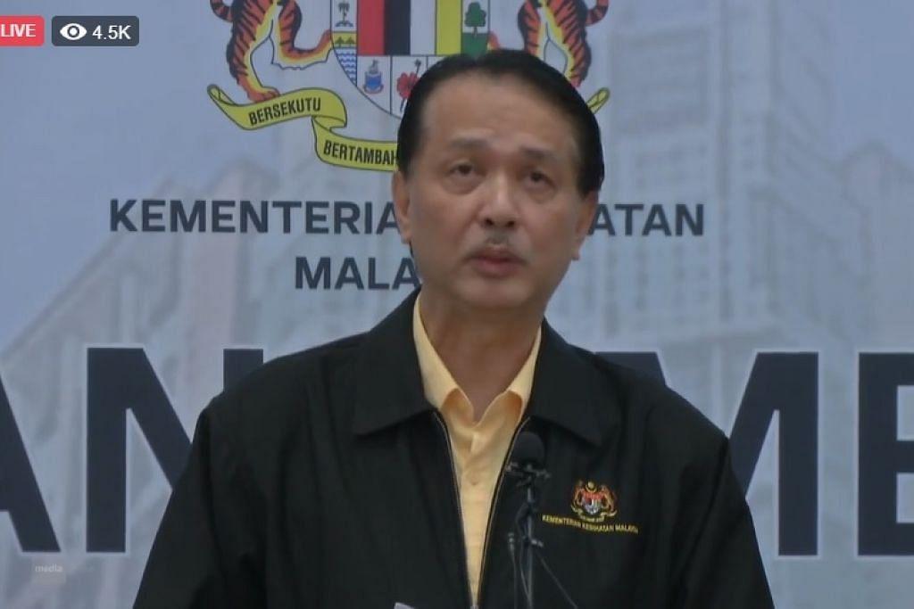 PENULARAN COVID-19: Ketua Pengarah Kesihatan, Datuk Dr Noor Hisham Abdullah, berkata sebanyak 67 kes baharu dilaporkan hari ini, tetapi tiada kes import menjadikan keseluruhan kes di Malaysia, 6,656.