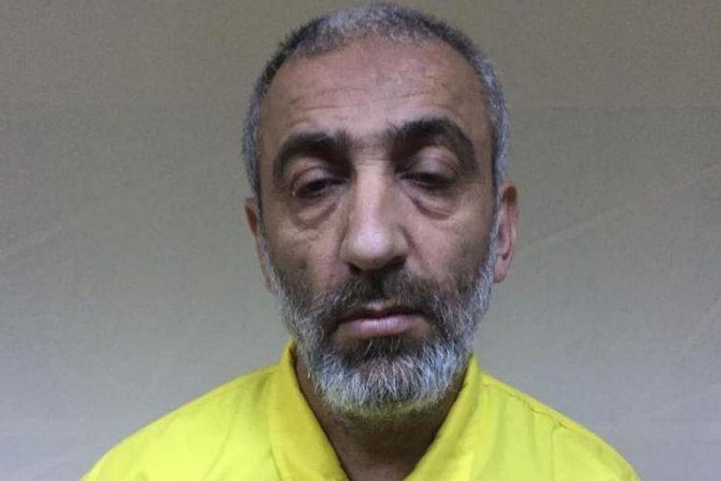 BERJAYA DIBERKAS: Seorang pemimpin Daesh yang dianggap sebagai pengganti bekas ketua kumpulan pengganas Abu Bakar Al-Baghdadi, Abdul Nasser Qardash, telah ditahan oleh Perkhidmatan Perisikan Nasional yang memberitahu Agensi Berita Iraq (INA), dan dilaporkan akhbar Arab News hari ini.