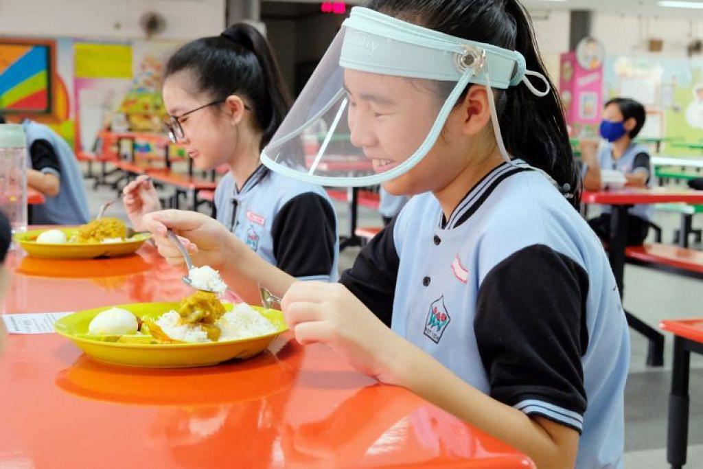 PELINDUNG ALTERNATIF: Pelajar setempat akan kembali ke sekolah pada 2 Jun nanti. - FOTO: KEMENTERIAN PENDIDIKAN