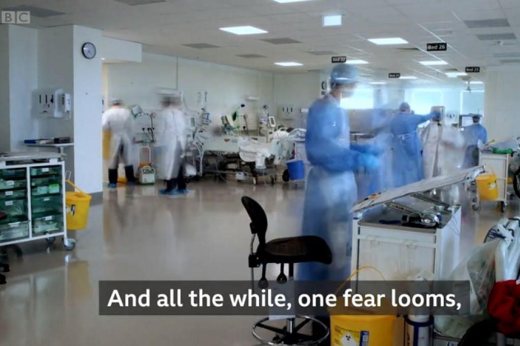 PATUHI ARAHAN DEMI KESELAMATAN KESIHATAN: Encik Masagos mengongsi video BBC yang menunjukkan krisis di hospital yang begitu sibuk apabila negara mengalami gelombang jangkitan Covid-19 dan meminta masyarakat mematuhi arahan demi memastikan masyarakat dan warga emas terlindung dari jangkitan koronavirus.