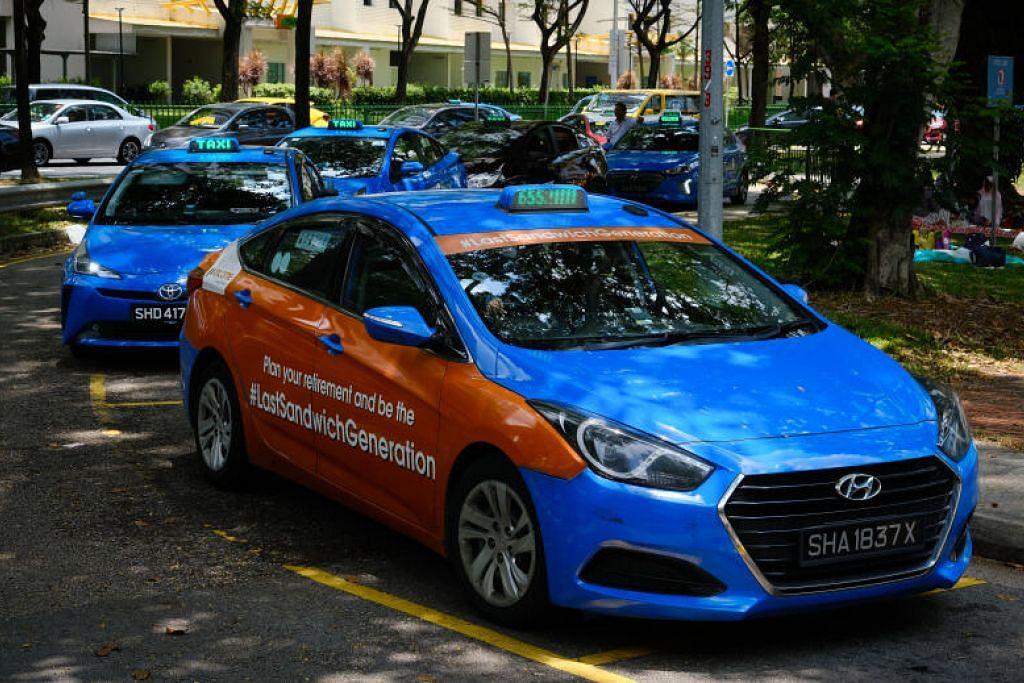 BANTUAN UNTUK PEMANDU TEKSI: Syarikat ComfortDelGro Taxi menawarkan kepada pemandunya potongan sewa 50 peratus bagi sewa teksi untuk bulan Jun.