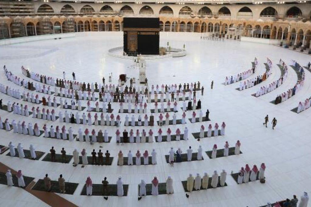 PELONGGARAN PERINTAH SEKATAN: Menurut Kementerian Dalam Negeri Arab Saudi, fasa pertama akan bermula 31 Mei ini dan prosedur keluar masuk ke Makkah dibenarkan dari jam 6 pagi hingga 3 petang.