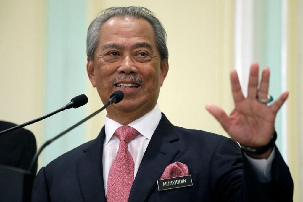 KETUAI PARTI: Majlis Pimpinan Tertinggi (MPT) Parti Pribumi Bersatu Malaysia (BERSATU), malam tadi mengiktiraf Tan Sri Muhyiddin Yassin sebagai pemangku Pengerusi parti yang sah.