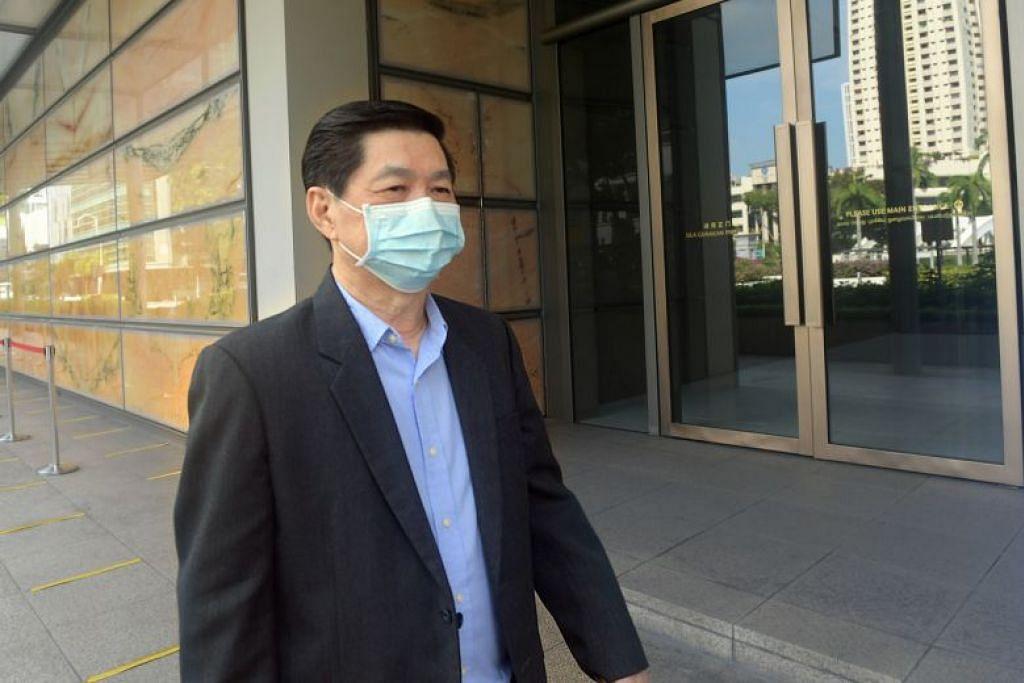 DIBEBASKAN DARI TUDUHAN: Dr Wee Teong Boo pada mulanya dibicarakan kerana telah mencabul seorang pesakit wanita pada November 2015 dan telah merogolnya semasa lawatan yang lain.