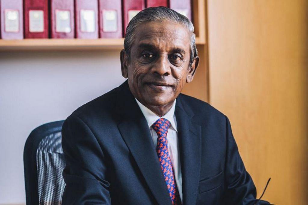Mantan Timbalan Perdana Menteri S. Jayakumar telah dilantik sebagai pro-canselor NUS. - Foto NUS