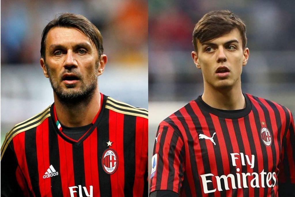 Anak: Daniel Maldini, Bapa: Paolo Maldini. - Foto REUTERS, KELAB PENYOKONG PAOLO MALDINI / FACEBOOK