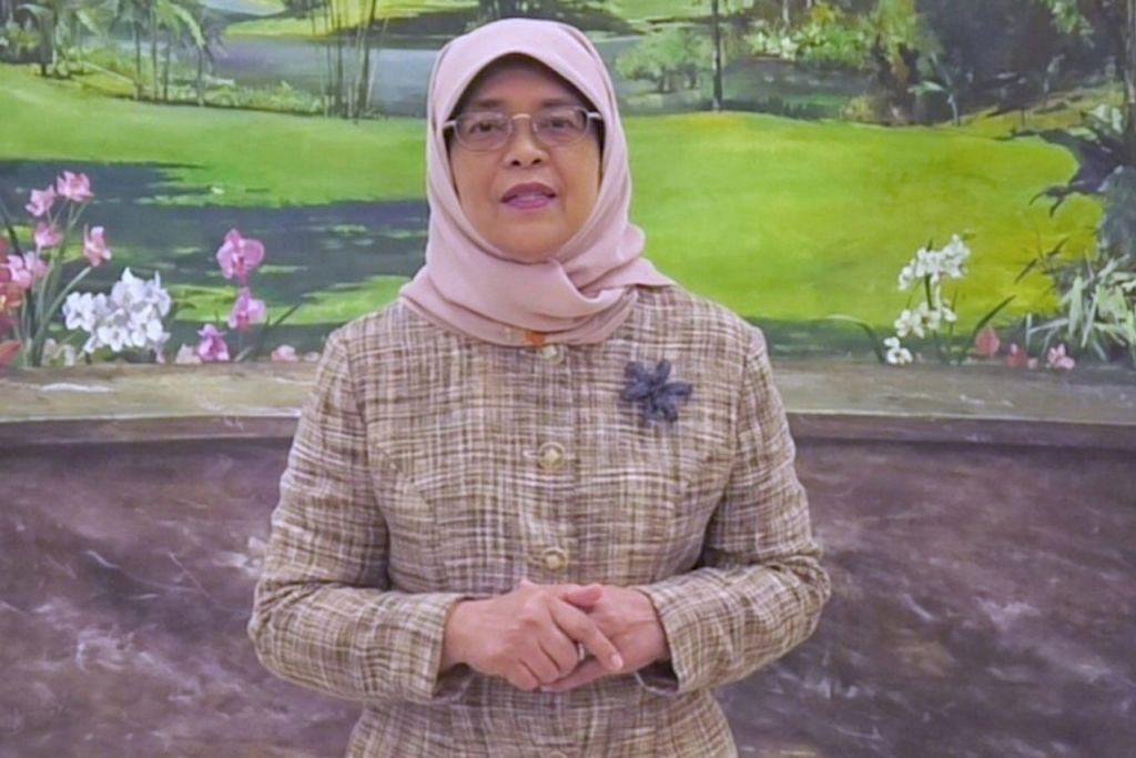 – Presiden Halimah Yacob