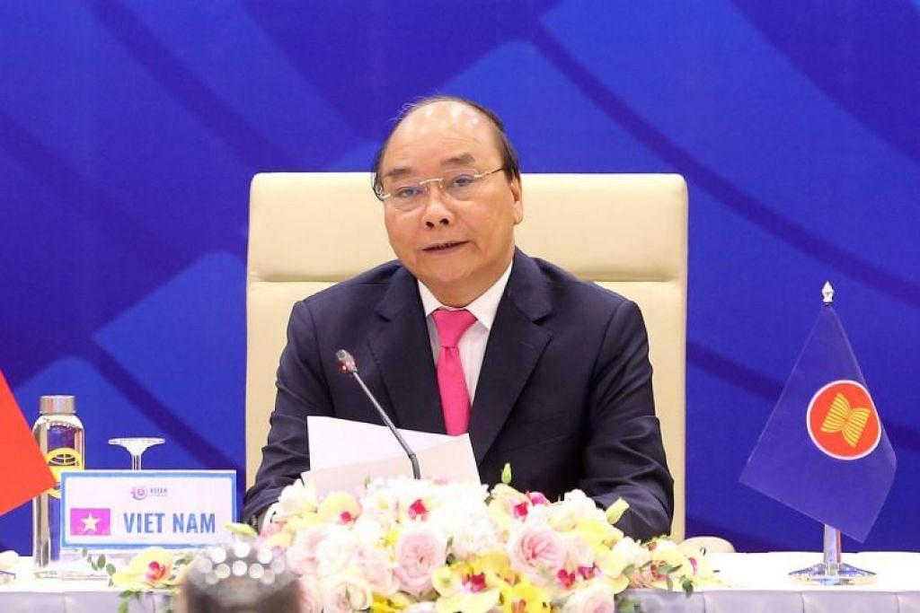 """Perdana Menteri Vietnam Nguyen Xuan Phuc mengaku bahawa """"masalah strategik antara negara-negara besar telah menjadi jelas dan semakin mendalam."""""""