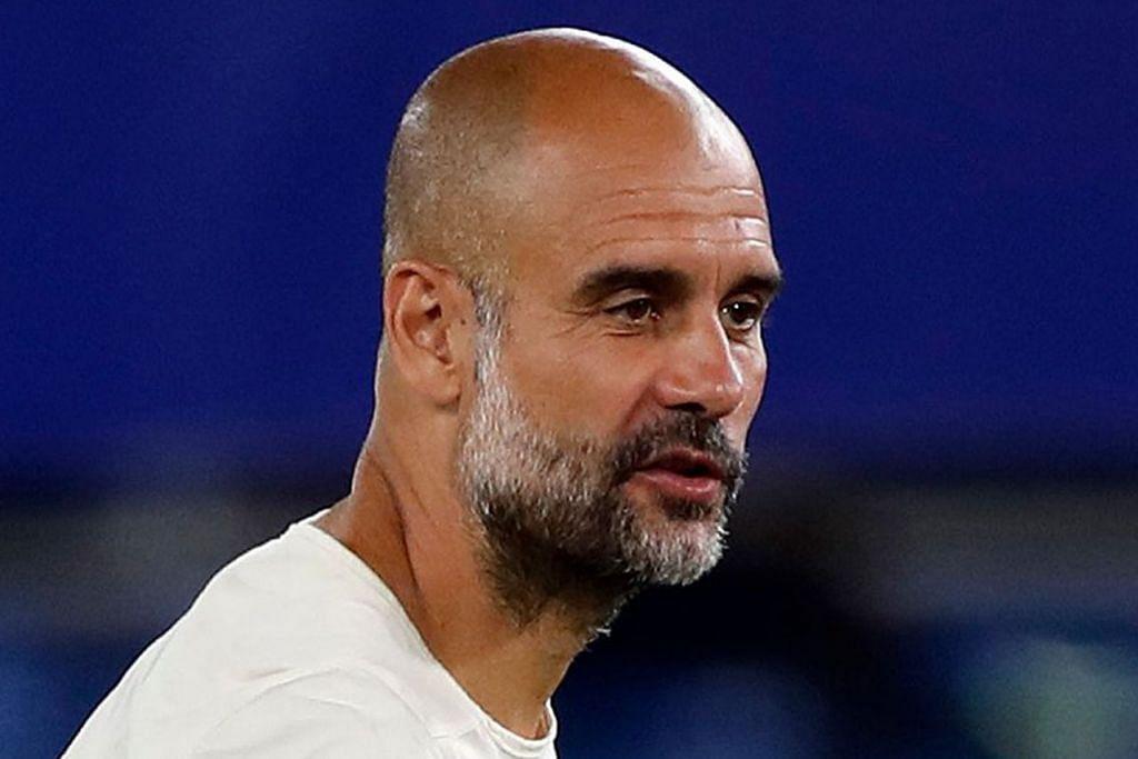 Pengurus Manchester City Pep Guardiola