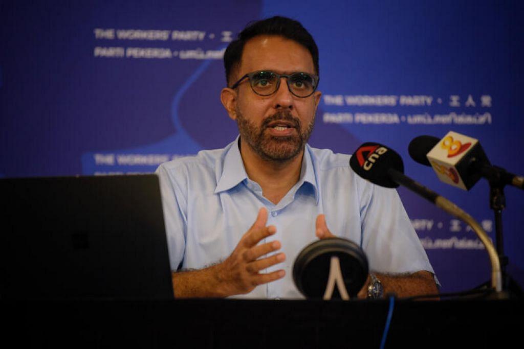 "BERI TUMPUAN KEPADA NEGARA: Parti Pekerja (WP) harus memberi tumpuan tentang apa yang penting, dan ""tidak memikirkan tentang kedudukan politik yang perlu diambil"", kata Encik Pritam Singh dalam satu sidang akhbar pada 12 Julai."