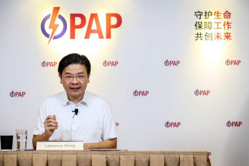 Encik Wong berkata golongan muda mempunyai aspirasi dan jangkaan berbeza, dan isu yang menjadi keprihatinan mereka juga lain berbanding generasi lebih lanjut usia.