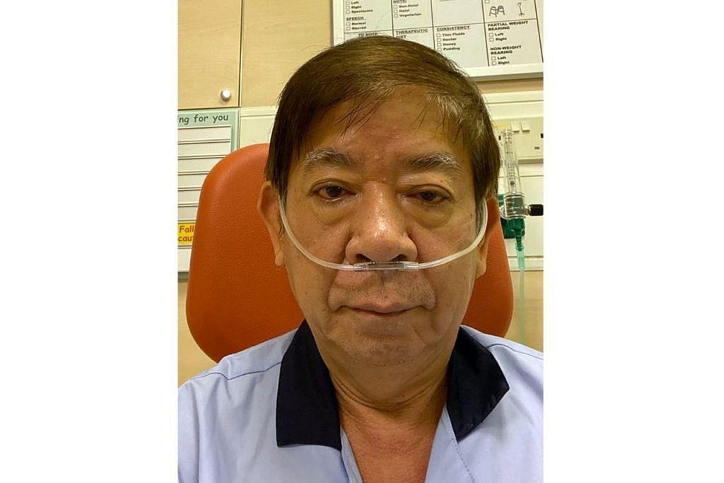 DIMASUKKAN KE HOSPITAL: Encik Khaw Boon Wan berkata beliau menjalani ujian swab Covid-19 tetapi negatif. Encik Khaw memang mengesyaki beliau dijangkiti denggi kerana kawasannya ialah zon penyakit itu. - Foto KHAW BOON WAN / FACEBOOK