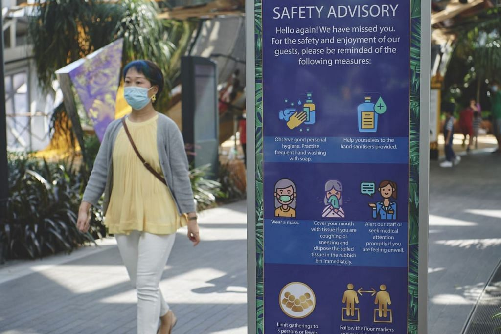 Tahap keselamatan tambahan -Foto TED CHEN, JEWEL CHANGI AIRPORT