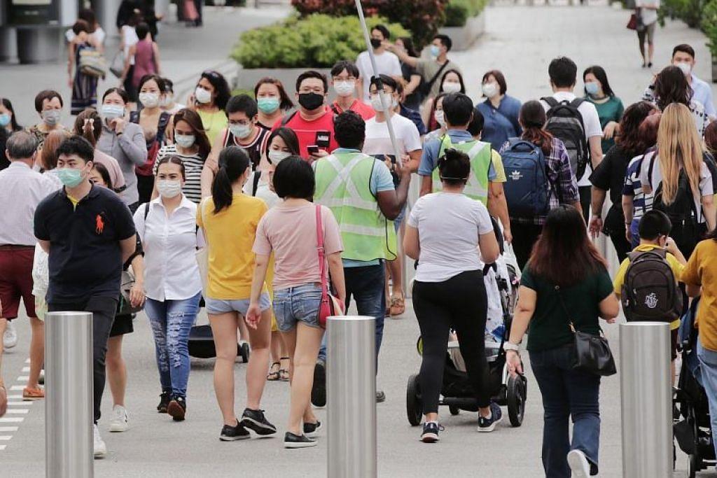 15 kes koronavirus baru dilaporkan di Singapura yang termasuk 5 kes import dan, tiada kes dalam masyarakat.