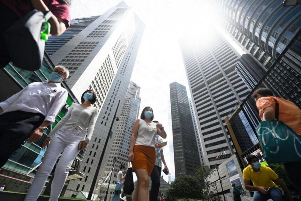 SINGAPURA TIDAK TERKECUALI: Menurut Laporan Indeks Trend Kerja, Singapura dan India adalah dua negara utama di rantau ini yang mempunyai pekerja yang semakin lesu upaya, masing-masing mencapai 37 peratus dan 29 peratus. - Foto fail