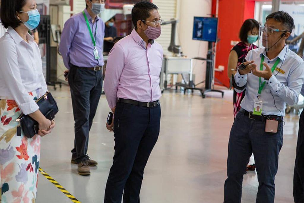 Dr Maliki telah mengunjungi RP beberapa hari lalu dengan Cik Gan Siow Huang, dan gembira melihat politeknik itu telah membuka kampusnya dengan langkah pengurusan selamat yang menyeluruh.