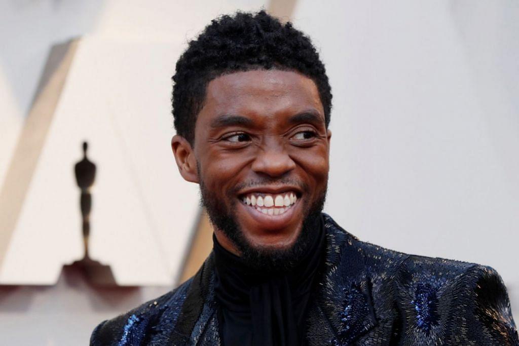 RAHSIAKAN PENYAKIT: Chadwick Boseman, pelakon yang memegang watak Black Panther, merahsiakan penyakit barah kolon yang dikesan pada 2016, hinggalah beliau meninggal dunia Ogos lalu. – Foto fail