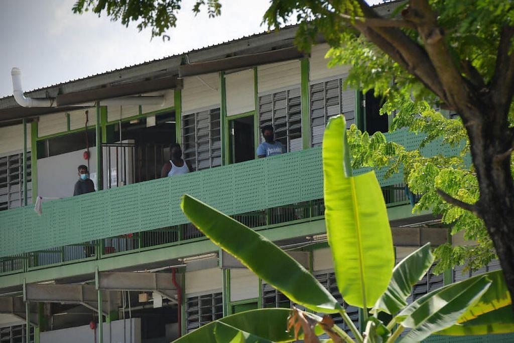 Kes baru itu termasuk satu jangkitan setempat melibatkan asrama pekerja.