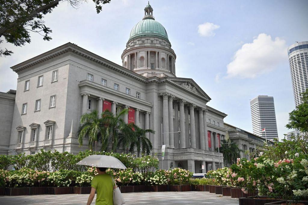 Restoran Gemma Steakhouse di tingkat lima Galeri Nasional Singapura diarah tutup 20 hari kerana izin tempahan 75 orang. - FOTO: Fail.