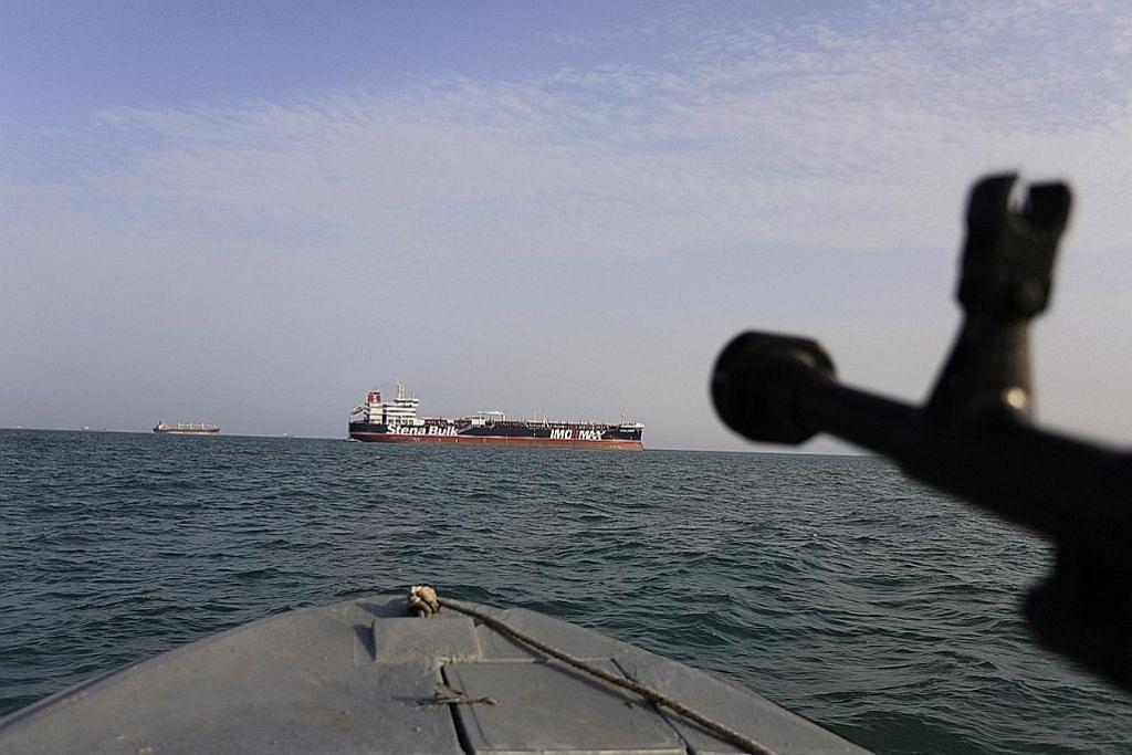 Iran rampas kapal kerana 'seludup minyak', tahan 16 kru warga Malaysia