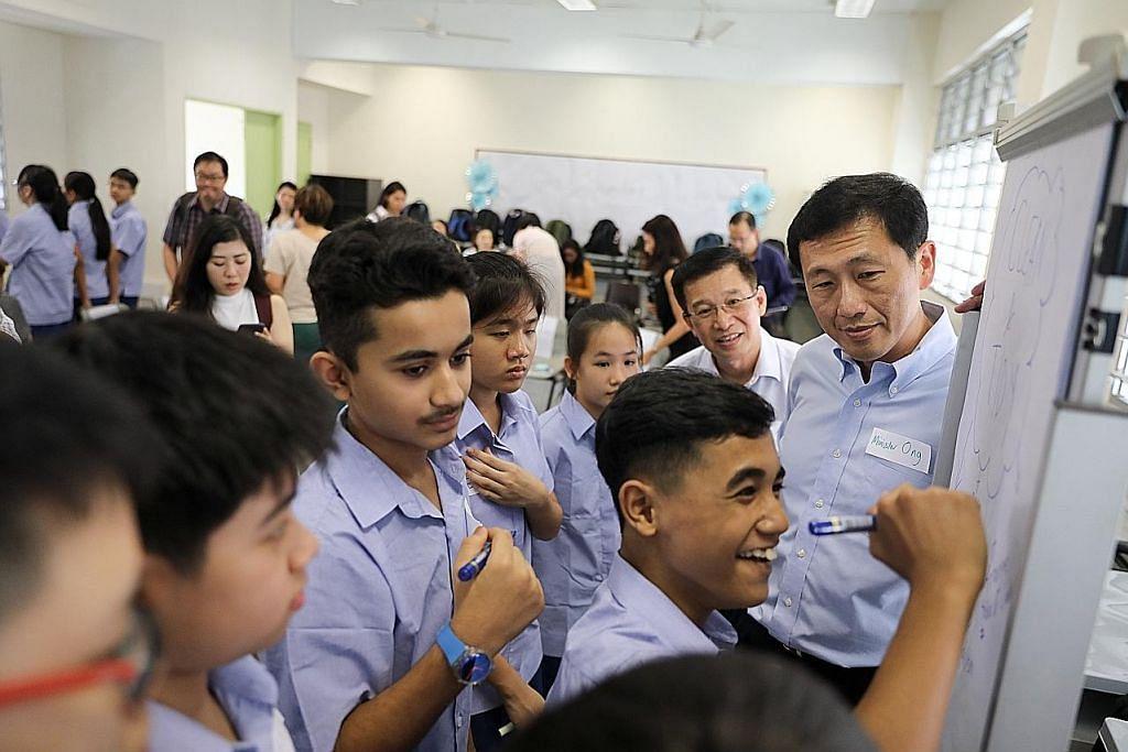 Ye Kung: Sistem pengumpulan mata pelajaran maksimumkan potensi pelajar