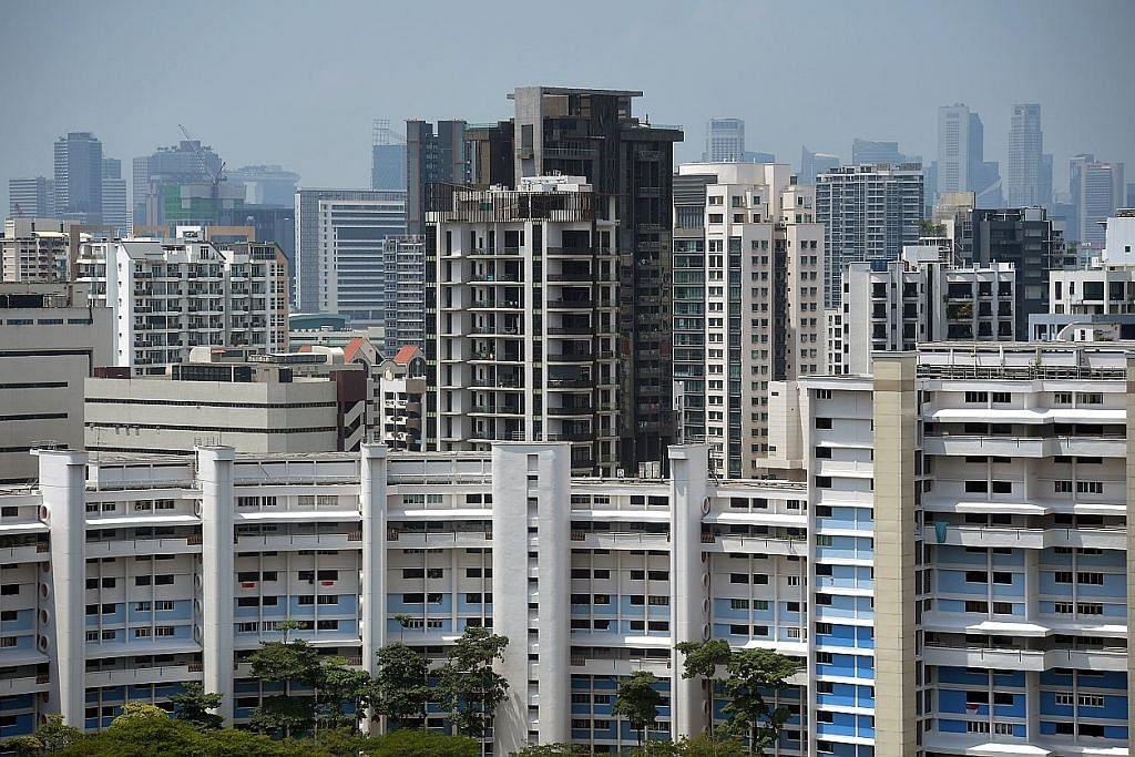 Harga flat jualan semula HDB naik 0.4% suku keempat tahun lalu
